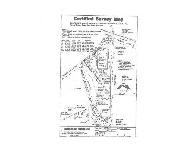 6.74 Ac Hommen Rd, Deerfield, WI by First Weber Real Estate $149,900