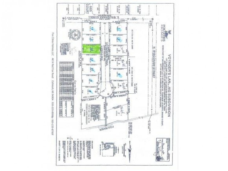 Lot 12 VOYAGERS TR, Berlin, WI by First Weber Real Estate $29,980