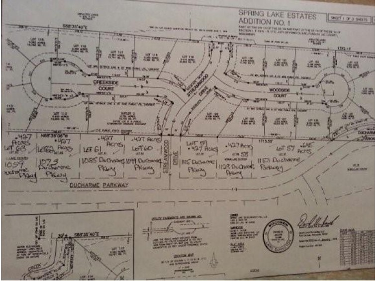 1059 DUCHARME PKWY Lot 63, Fond Du Lac, WI by Roberts Homes and Real Estate $49,900