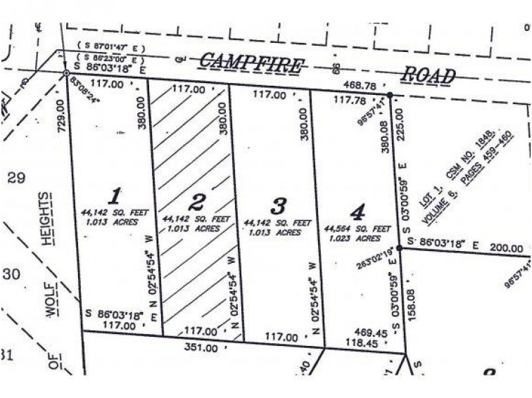 CAMPFIRE RD Lot 2, Shawano, WI by Exit Elite Realty $12,900