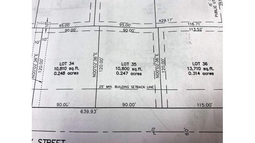 Lot 35 PRAIRIE FOX ST North Fond Du Lac, WI 54937 by First Weber, Inc. $38,900