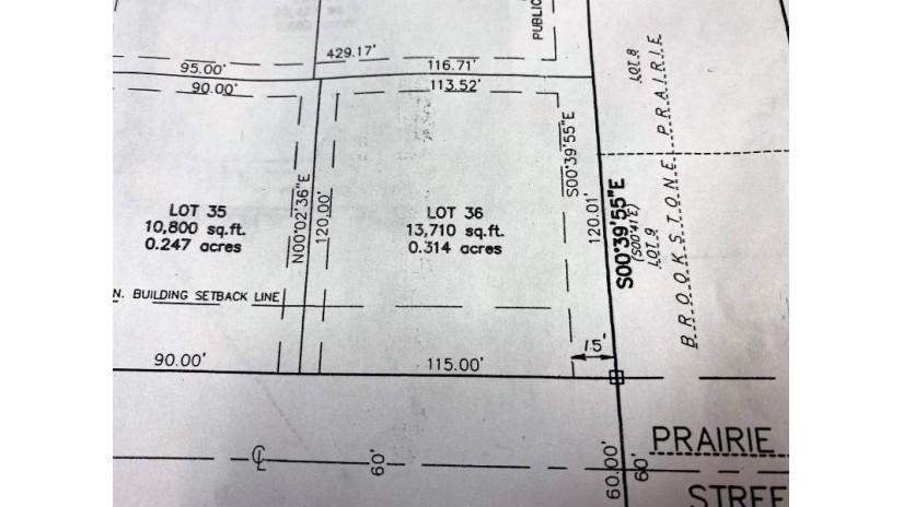 Lot 36 PRAIRIE FOX ST North Fond Du Lac, WI 54937 by First Weber, Inc. $38,900