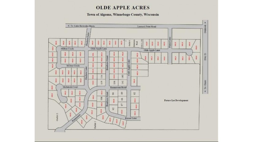 CRAB APPLE LN Lot 89 Algoma, WI 54904 by Midwest Real Estate, Inc. $57,900
