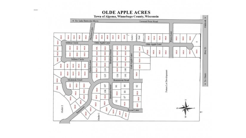 BRAEBURN ST Lot 107 Algoma, WI 54904 by Midwest Real Estate, Inc. $57,900