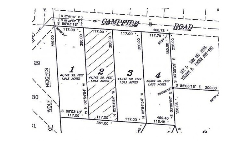 CAMPFIRE RD Lot 2 Waukechon, WI 54166 by Exit Elite Realty $12,900