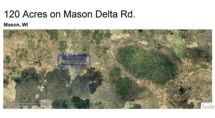XXX Mason Delta Rd Mason, WI 54816 by Blue Water Realty, Llc $180,000