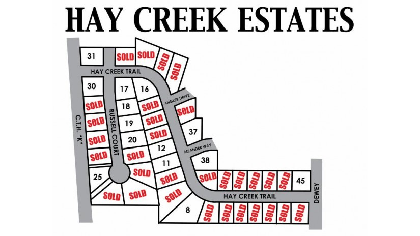 836 Hay Creek Tr Reedsburg, WI 53959 by First Weber Inc $24,500