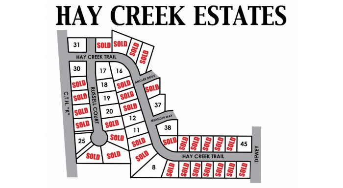 Lot 45 Hay Creek Trails Reedsburg, WI 53959 by First Weber Inc $21,900