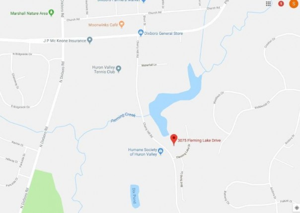 3077 Fleming Lake, Ann Arbor, MI, 48105
