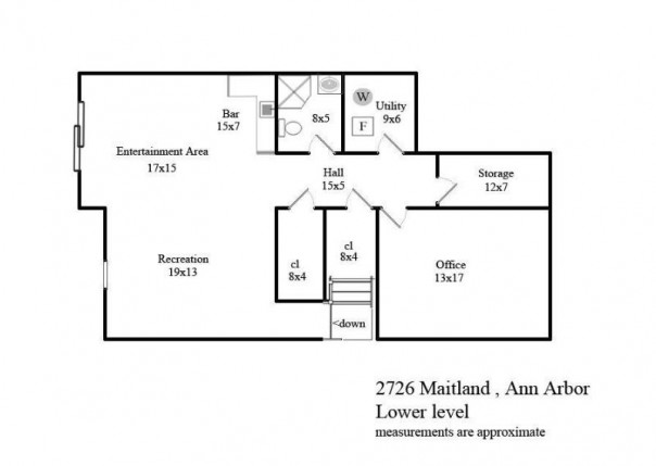 2726 Maitland, Ann Arbor, MI, 48105