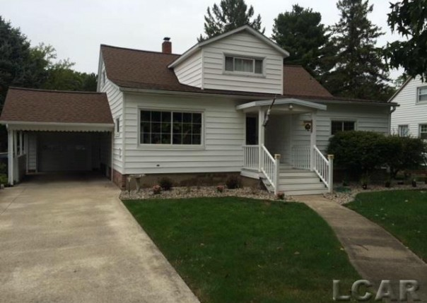 221 Russell Blissfield, MI 49228 by Kyle Cranor Realty $147,500