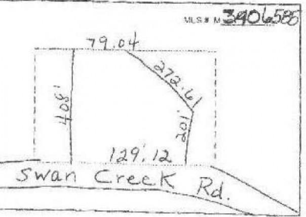 0 SWAN CREEK RD Newport, MI 48166 by Century 21 Allstar R.e. Team $199,000