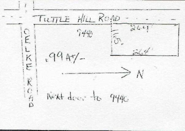 0 TUTTLEHILL ROAD Maybee, MI 48159 by Raisin River Realty $24,900