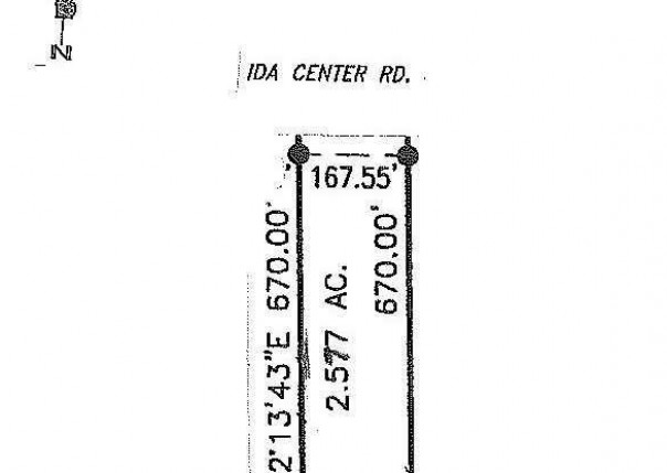 6 IDA CENTER ROAD Ida, MI 48140 by Berkshire Hathaway Hudkins Realtors $45,000