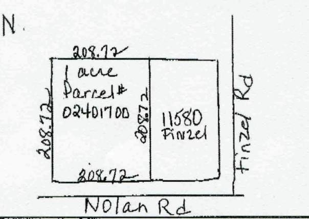 0 W NOLAN Carleton, MI 48117 by Century 21 Allstar R.e. Team $17,500