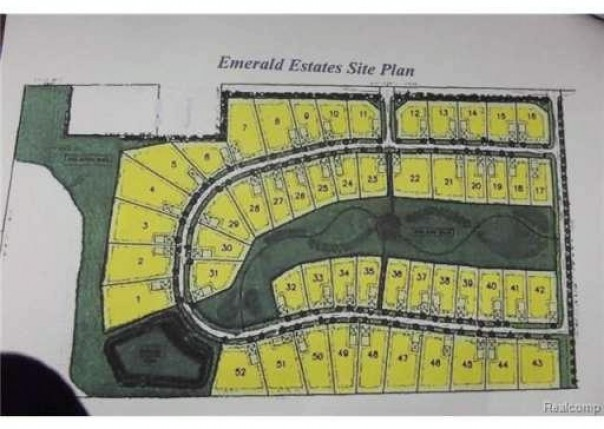 LOT-6 EMERALD VALLEY Loop Handy Township, MI 48836 by Harmon Real Estate Llc $39,900