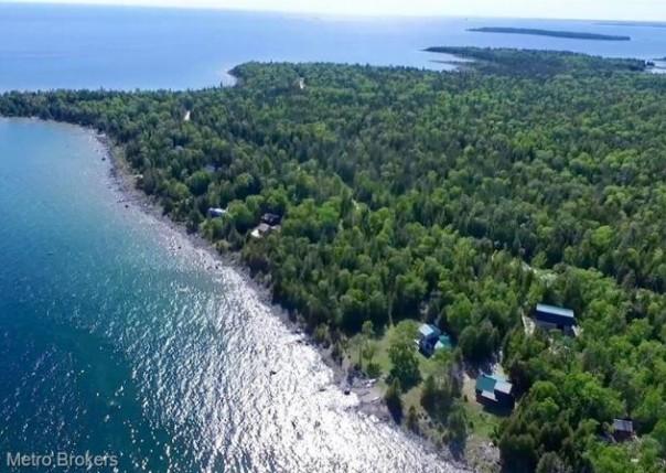40640 S Cream City Point, Drummond Island, MI, 49726