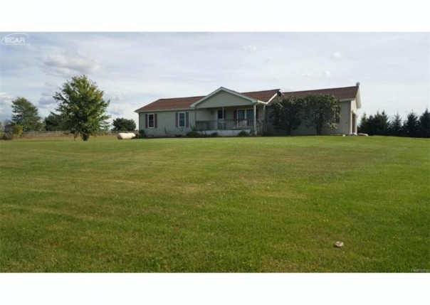4560 Peck Road North Branch, MI 48461 by Remax Real Estate Team $159,900