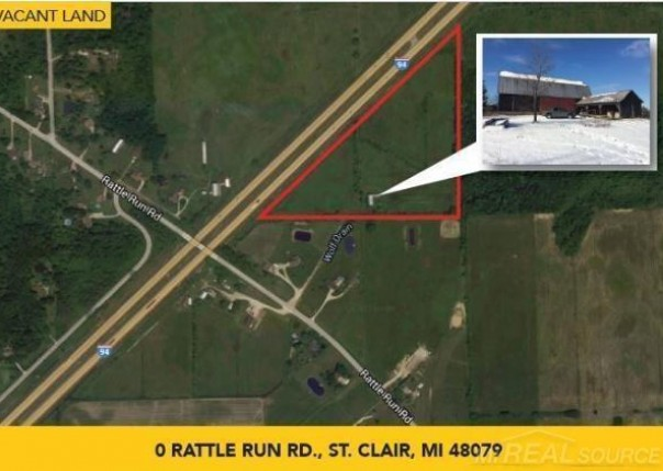 0 Rattle Run,  Saint Clair, MI 48079 by Pilot Property Group Inc $125,000