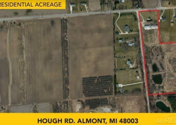 Hough Rd,  Almont, MI 48003 by Pilot Property Group Inc $395,000