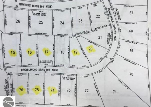 Lot 45 Bramblewood Drive, Cadillac, MI, 49601