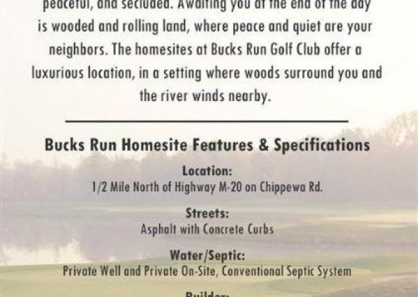 Lot 4 E White Tail Trail, Mt. Pleasant, MI, 48858