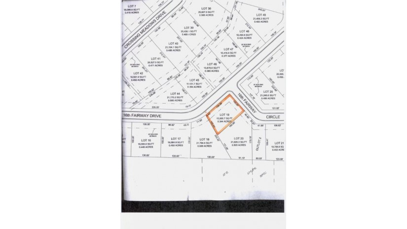 LOT 19 16TH FAIRWAY DR Viroqua, WI 54665-0000 by United Country - Oakwood Realty $36,900