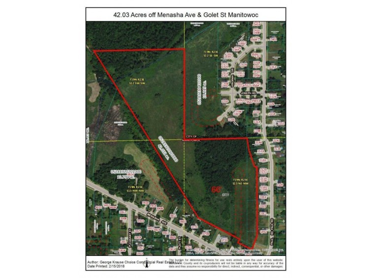 Parcel #1 Menasha Ave, Manitowoc, WI by Choice Commercial Real Estate Llc $119,900