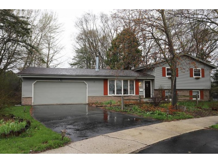 914 Sandy Acre Ct, West Bend, WI by Coldwell Banker Residential Brokerage $208,000