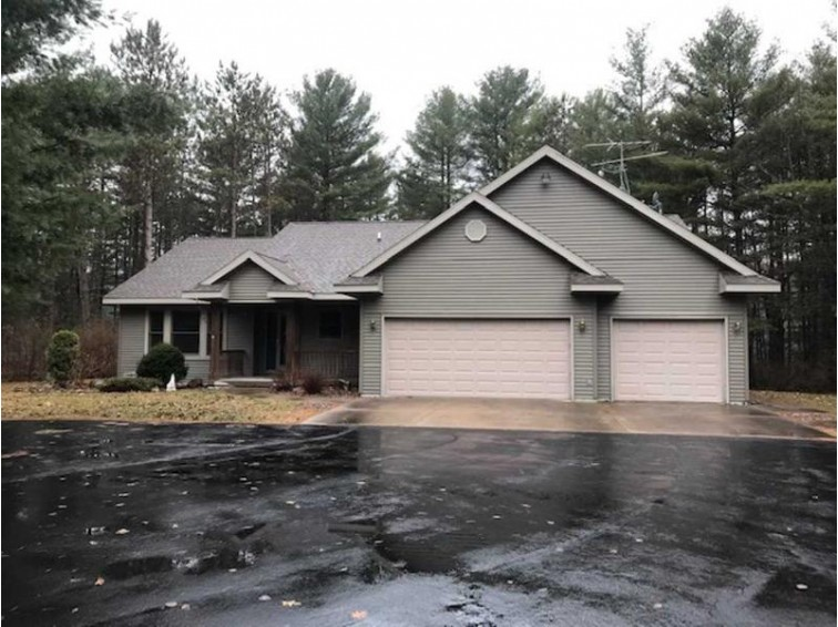 W4453 Eagle Ridge Lane, Merrill, WI by Coldwell Banker Action $299,900