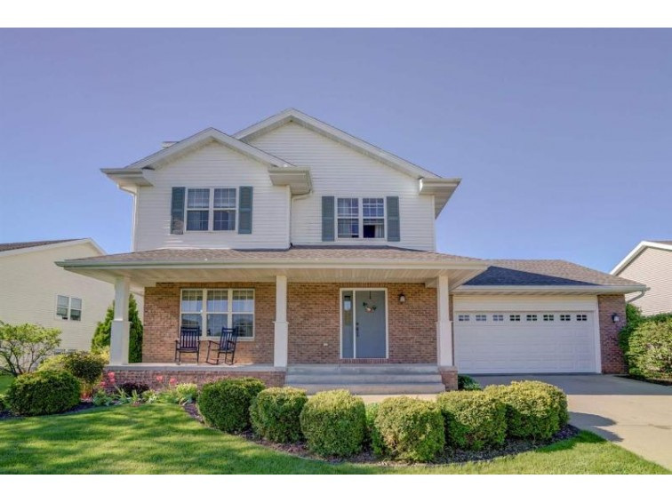 5211 Snapdragon Tr, Fitchburg, WI by Realty Executives Cooper Spransy $325,000