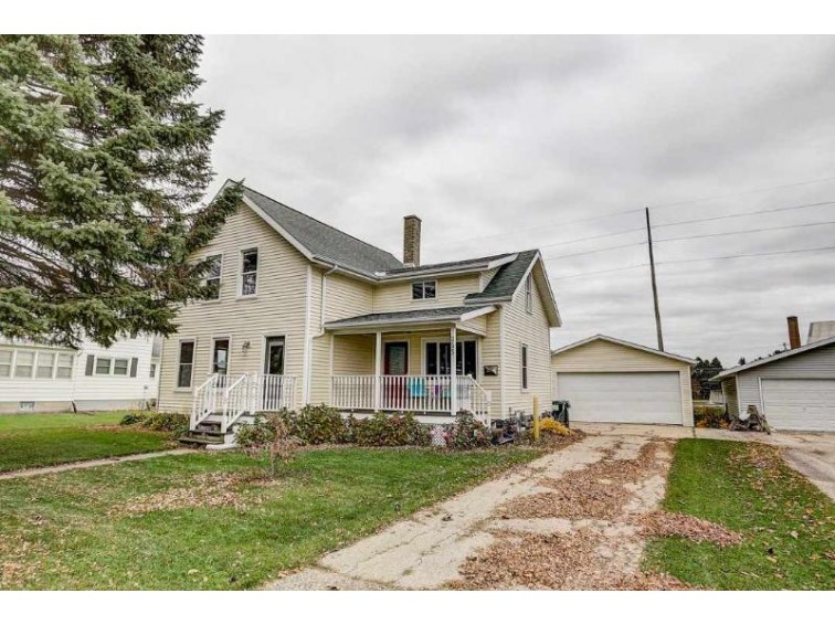 253 Center St, Randolph, WI by Realty Executives Cooper Spransy $139,900