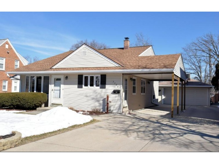 3760 S 56th St Greenfield, WI 53220-2047 by Shorewest Realtors, Inc. $189,900
