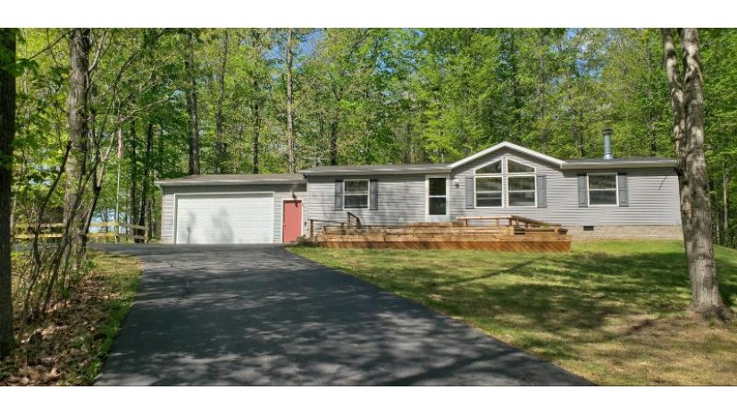 W7614 County Rd X Middle Inlet, WI 54177 by Bigwoods Realty Inc $139,900