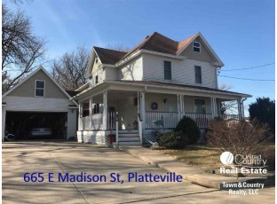 665 E Madison St Platteville, WI 53818
