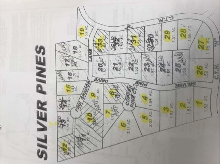 Lot 3 Silver Pine Dr, Crescent, WI by First Weber Real Estate $23,000