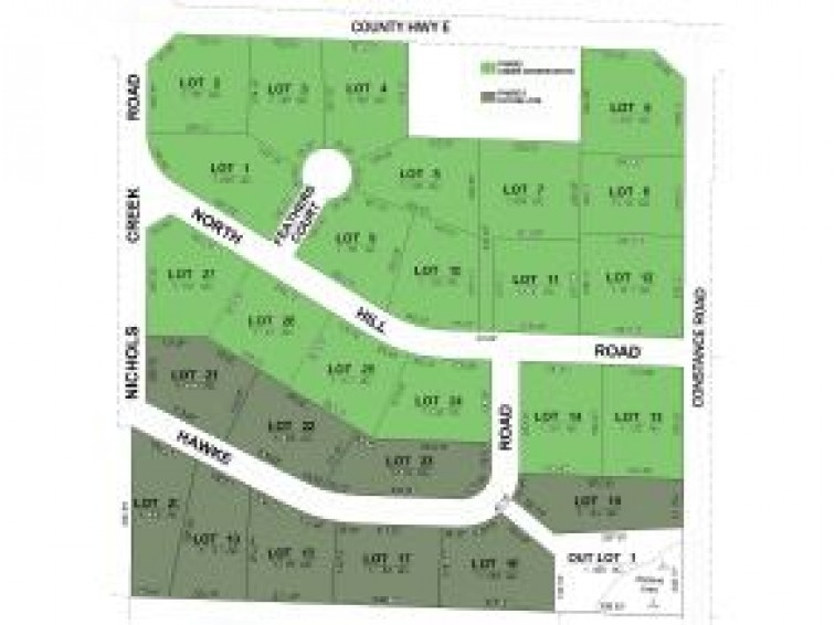 NICHOLS CREEK RD Lot 2, Waupaca, WI by RE/MAX Lyons Real Estate $24,900