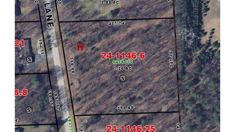 3.26 Acres Rustic Oak Ln Peshtigo, WI 54157 by New Home Real Estate LLC / WI & MI $34,500