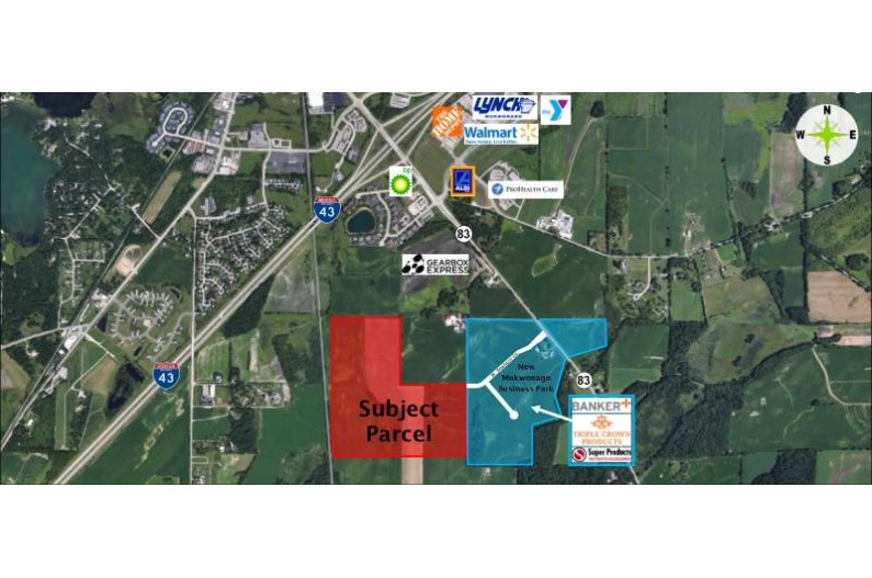 120 Acres off 83, Mukwonago pi