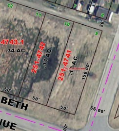 .17  Acres Elizabeth ST, Marinette, WI 54143