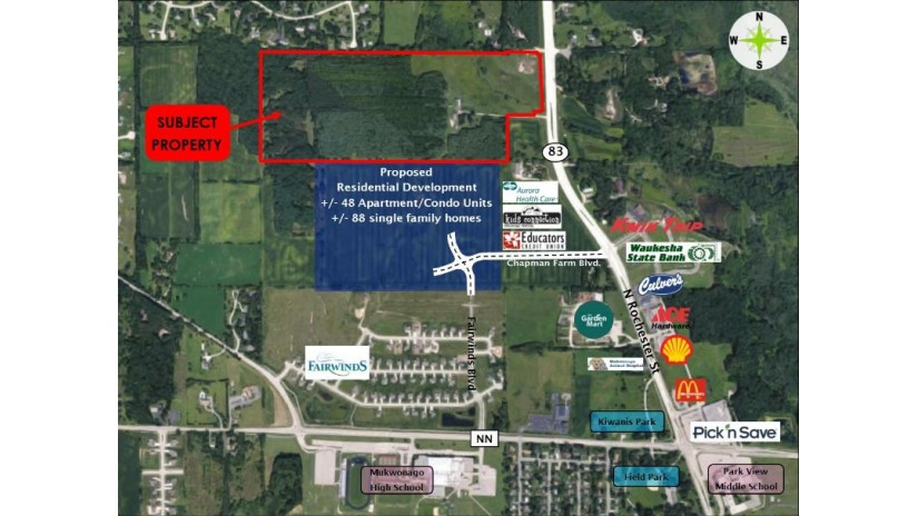 Lt0 Hwy 83 Mukwonago, WI 53149 by Anderson Commercial Group, LLC $5,900,000