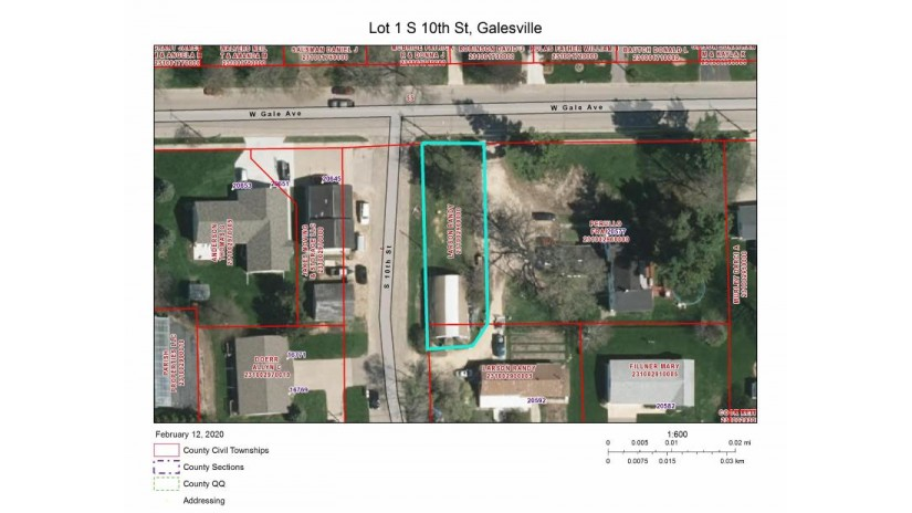 LOT 1 S 10th St Galesville, WI 54630-7134 by RE/MAX Results $39,000