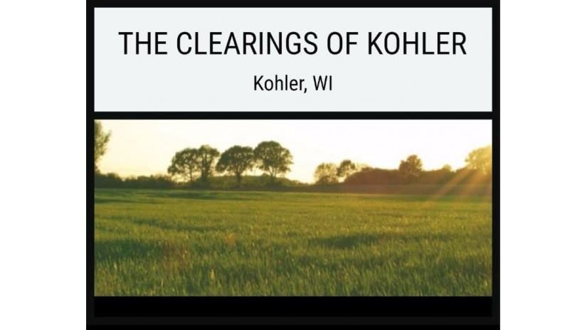 Lot 60 The Clearings Kohler, WI 53044 by Village Realty & Development $89,000