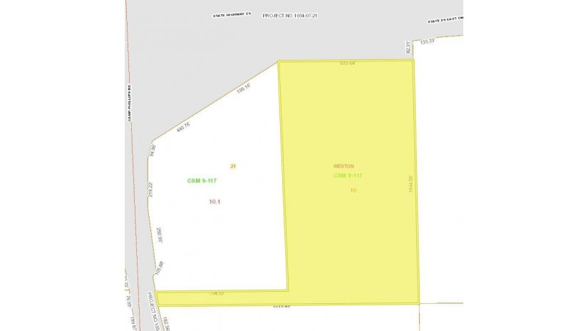 17.45 Acres County Road X Weston, WI 54476 by First Weber $600,000