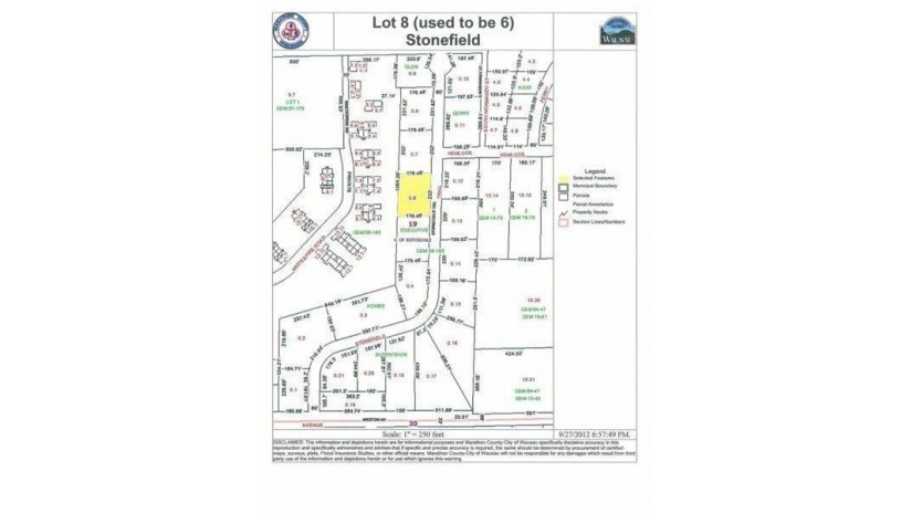 7614 Stonefield Trail Lot 4, 7614 Stonef Rothschild, WI 54474 by First Weber $37,000