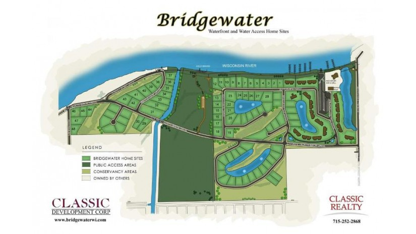 1207 Bridgeview Drive Lot #33 Biron, WI 54494 by Classic Realty, Llc $185,000