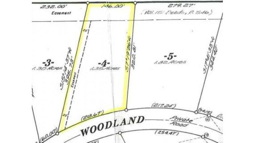 LOT 4 Woodland Dr Plum Lake, WI 54561 by Eliason Realty Of St Germain $12,900