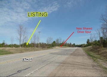 Hwy 17 Lot 5, Sugar Camp, WI 54501