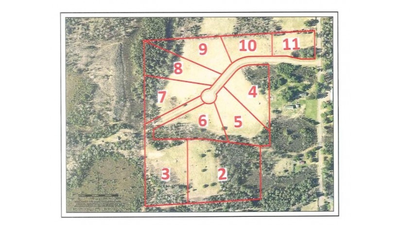 LOT 9 Bear Paw Tr Eisenstein, WI 54552 by Birchland Realty, Inc - Park Falls $19,900