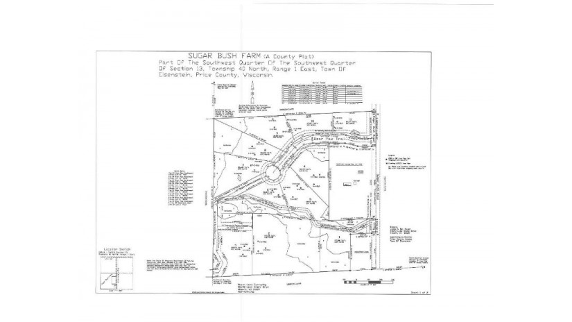 LOT 10 Bear Paw Tr Eisenstein, WI 54552 by Birchland Realty, Inc - Park Falls $14,900
